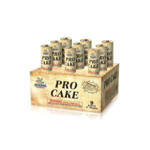 9 Shots Pro Cake 2inch