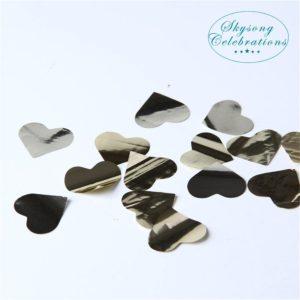 Confetti - Gold Heart Metallic Confetti 3cm 45gram