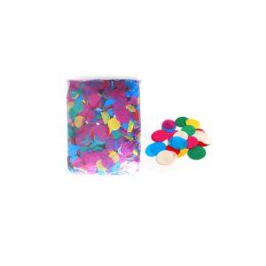Confetti - Colourful Confetti Round Shape 1kg