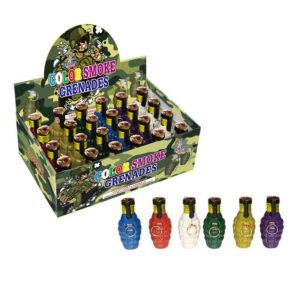 color smoke grenades