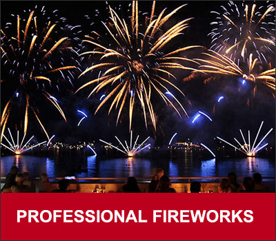 Professional Fireworks Show Event